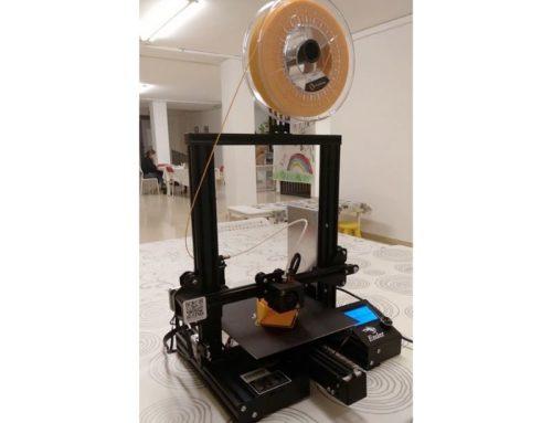 New 3D printer at Saleta de Creació