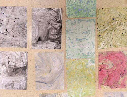 Paper de marbre