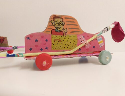 Ballon Rocket Car
