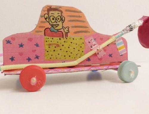 Ballon Rocket Car