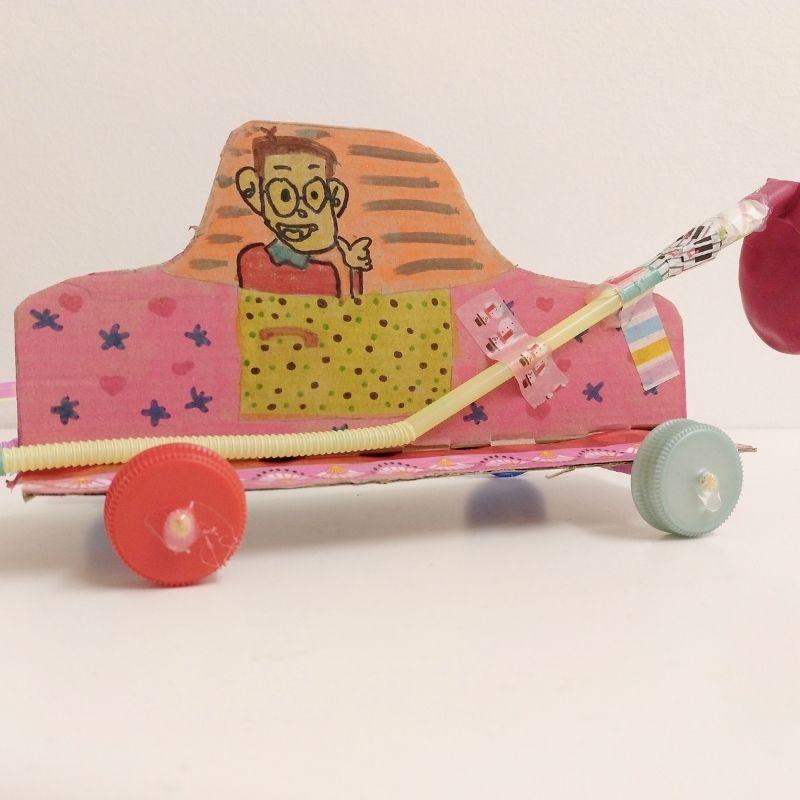 balloon rocket car