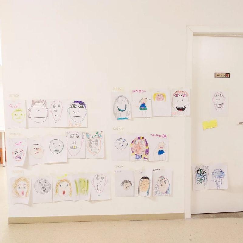 dibujar emociones