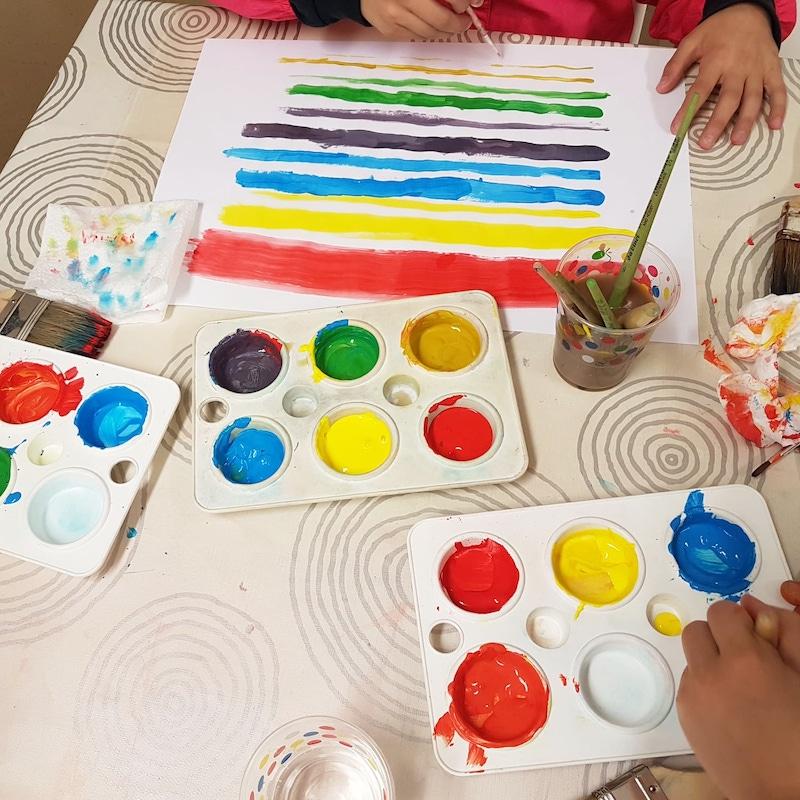 aprender a pintar con pintura