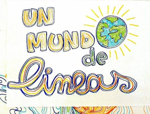 Un món de línies. #joemquedoacasa