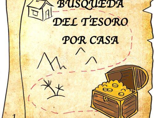 Búsqueda del Tesoro. #yomequedoencasa #Joemquedoacasa