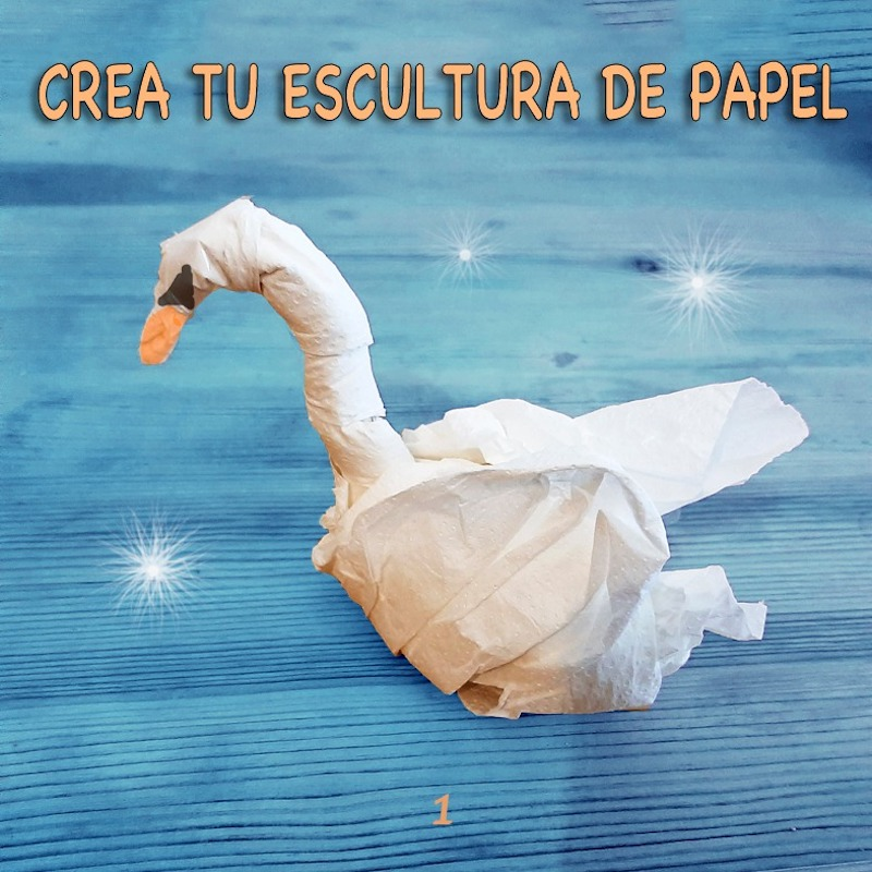 Crea tu escultura de papel