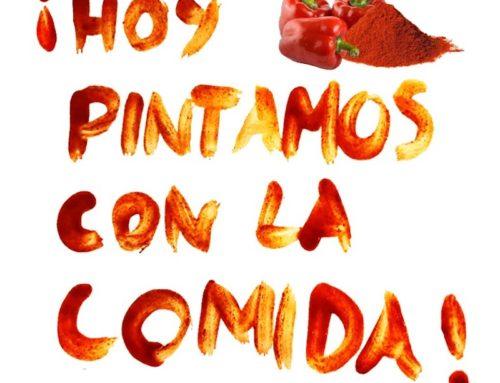 Pintar con Comida. #Joemquedoacasa #Yomequedoencasa