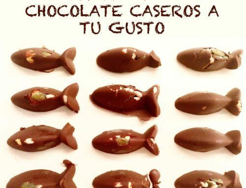 Bombones de chocolate caseros a tu gusto #yomequedoencasa