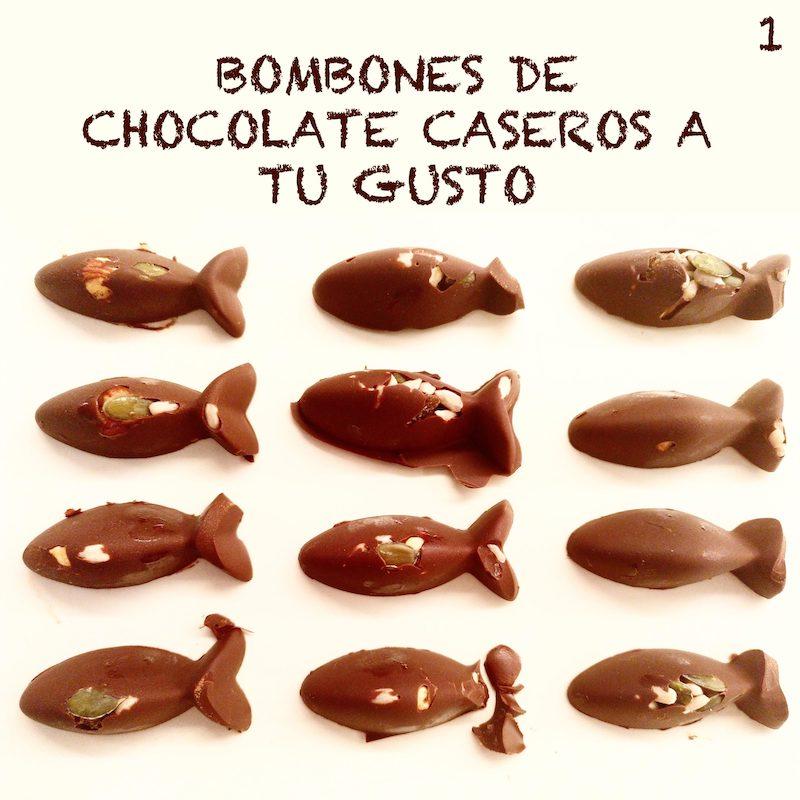 bombones de chocolate caseros